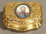 Russian snuffbox by Carl Ernst