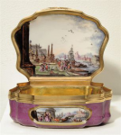 German snuffbox by Meissen