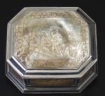 Dutch snuffbox by MD likely Michiel Deri